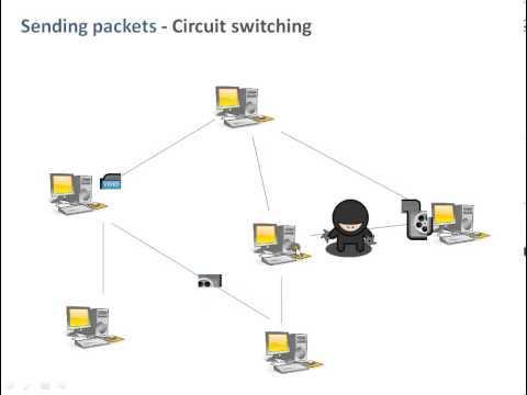 Circuit Switching & Packet Switching