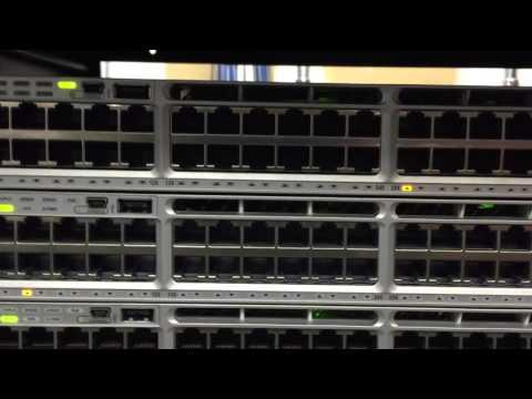 High Level Cisco Catalyst 3850 Switch Stack