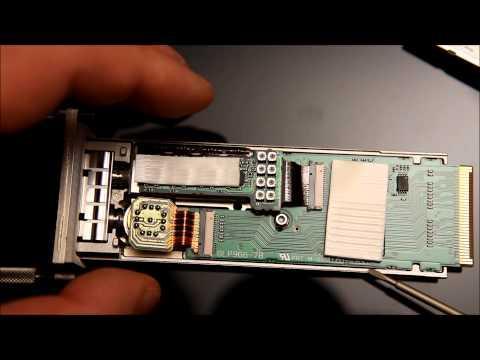 10 Gigabit Ethernet Transceiver (10GBase-LX4 Xenpak) Disassembly