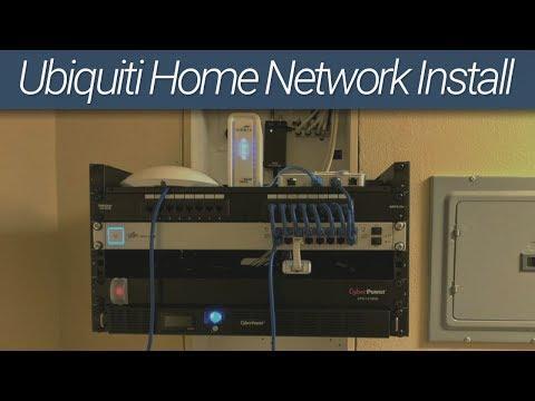Ubiquiti Home Network Install