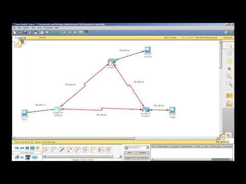 Making A Network - Routers And PC's On Packet Tracer - Part 1