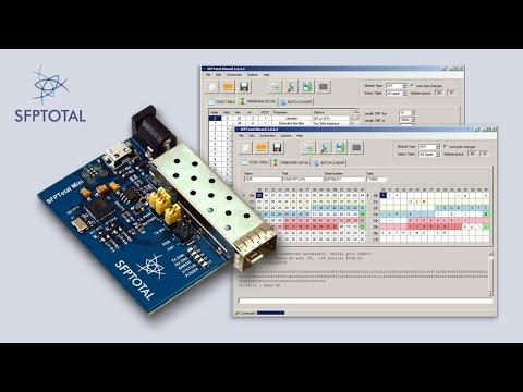 SFPTotal Mini - Programmer SFP/SFP+ Transceivers