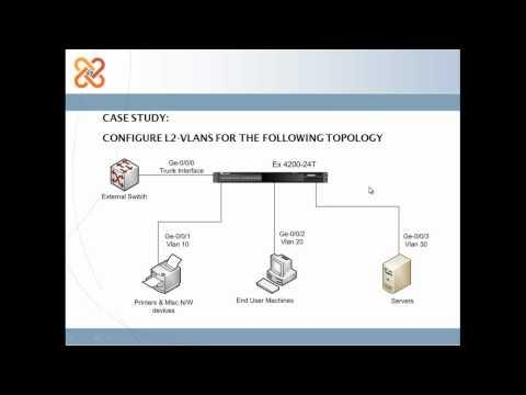 How To Configure L2-VLAN On JUniper EX Switches.mp4