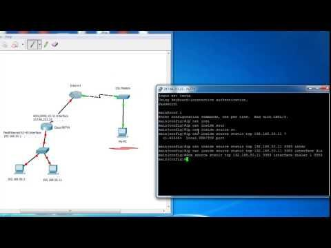 Port Forwarding And Static Nat On Cisco Routers - Access Your Private Network From The Internet