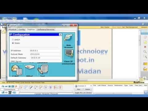 How To Configure Ssh On Cisco Routers In Packet Tracer In Hindi Lab - 8