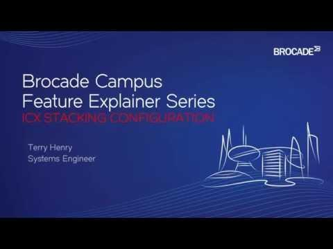 Configure Stacking With Brocade Campus Switches