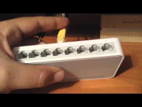 Como Agregar Mas Puertos Ethernet Al Instalar Un Switch TP Link TL-SF1008D En Español