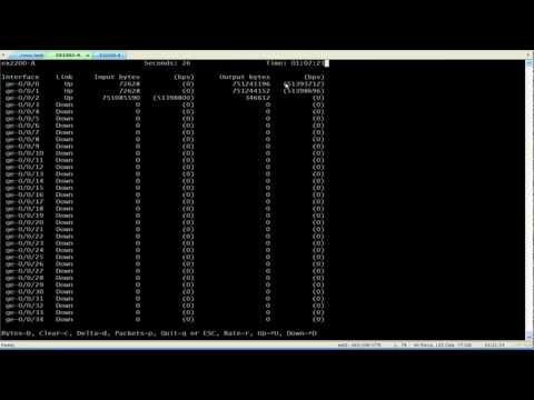 Configuring Storm Control On Juniper Network EX Series Switches