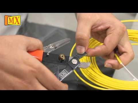 【CCTV】 How To Splice Fiber Optic Cable Manually
