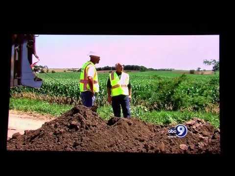 NTA's Dirty Job - Laying Fiber Optic Cable