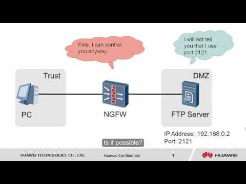 HUAWEI USG6000 Series: Security Policy Configruation