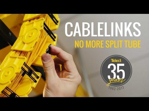 Telect CableLinks Fiber Cable Management