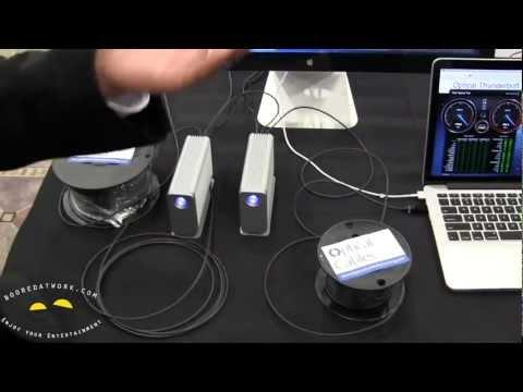Corning Fiber Optic USB 3.0 & ThunderBolt Cables
