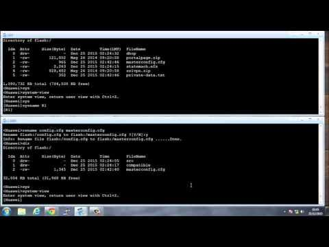Configure System Management On Huawei Routers Part 1