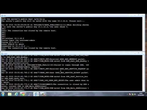 MPLS Traffic Engineering - GNS - CISCO - Example -- Part 2