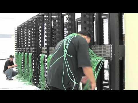 Cabling A SoftLayer Data Center Server Rack