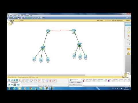 Configuracion De Red Con Dos Routers Packet Tracer