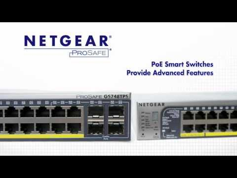 NETGEAR PoE Smart Switches Product Tour