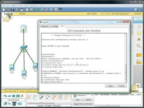 Packet Tracer - DHCP Setup