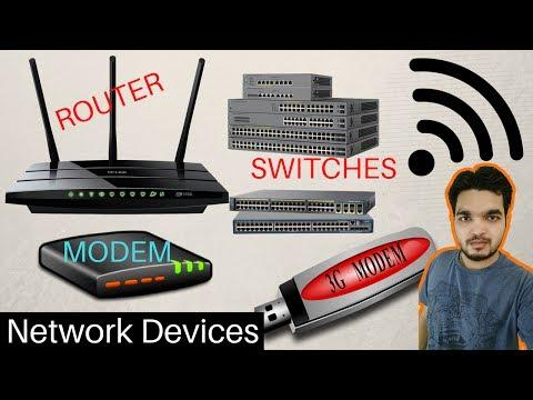 Network Devices - Routers, Modems, Switches, Hubs, Bridges, Wireless Access Points