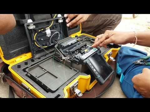 Splicing Of Fiber Optic Cable