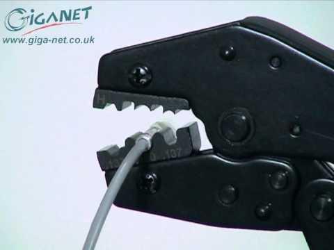 Fiber Optic Termination- How To Terminate Fiber Optic Cable Using Giganet Fibre Optic Connectors